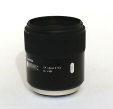 Tamron SP 45mm 1.8 Di  USD für SONY A-Mount Neuwertig OVP