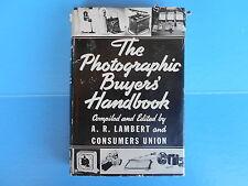 THE PHOTOGRAPHIC BUYERS' HANDBOOK 1939                                         m