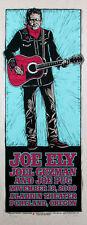 Joe Ely Poster Joe Pug Original Signed Silkscreen by Gary Houston 2008
