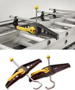 Rhino SafeClamp Lockable Ladder Clamps (1 pair) RAS21