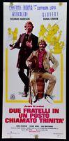 L92 Plakat Jesse E Lester Zwei Brüder IN Ein Platz Genannt Trinity' Harrison