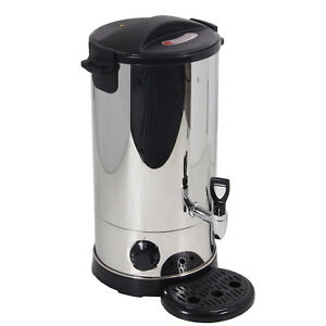 Stainless Steel 9L Tea Urn Electric Catering Hot Water Boiler Coffee