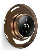 Google Nest Learning thermostat Wall Plate Cover - elago® [Chrome Bronze]