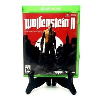 Wolfenstein II The New Colossus Xbox One XBOne Complete CIB Tested Bethesda 2017