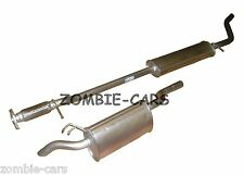 FIAT PUNTO CENTRE REAR EXHAUST BOXES 1.2 16V 01/2001-  100% QUALITY UNITS