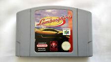 Nintendo 64 Game Cartridge - AUTOMOBILI LAMBORGINI - PAL Format