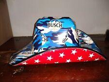 Busch Beer Box COWBOY HAT Anheuser Carton Novelty Americana New
