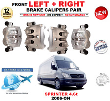 FOR MERCEDES SPRINTER 4.6t 2006-ON FRONT LEFT and RIGHT BRAKE CALIPERS SET