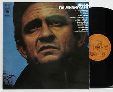 Johnny Cash       Hello, I´m Johnny Cash          CBS      VG ++ # 50