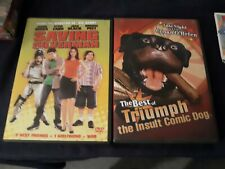 Saving Silverman & The Best of Triumph the Insult Comic Dog (Dvd, 2004) Lot Of 2