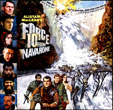 16mm Feature Film: FORCE 10 FROM NAVARONE (1978) Harrison Ford - SCOPE - Uncut