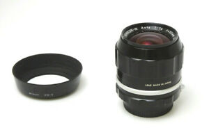 Nikon Nikkor N Auto 35mm f1.4 Non Ai Wide MF Lens JAPAN Used (Amber Tone)