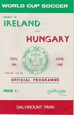 REPUBLIC OF IRELAND v HUNGARY ~ 8 JUNE 1969 ~ WORLD CUP QUALIFIER ~ EXCELLENT