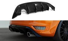 Cup Diffusor schwarz für Ford Focus ST MK2 Bj. 07-11 Heckstoßstangen Heck Ansatz