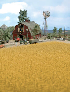 Walthers SceneMaster HO Scale Harvest Corn Field (Brown) Scenery Kit