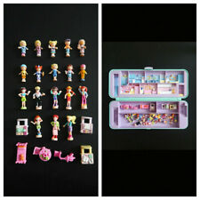 Lot polly pocket personnages accessoires figurines bluebird clothes furniture
