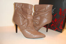 Carlos By Carlos Santana Womens NWB Chester Taupe Boots Shoes 8 MED NEW