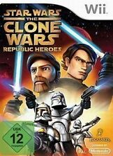 Nintendo Wii Spiel ***** Star Wars: The Clone Wars - Republic Heroes ****NEU*NEW