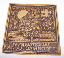 1973 Boy Scout National Jamboree Leather Patch