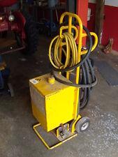 Hydraulic Fluid Oil Transfer Pump With Reservoir Teel Pump On Cart 12hp 115vac