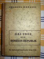 Moravec, Das Ende der Benesch-Republik
