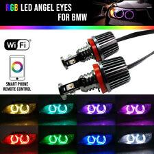 H8 RGB Angel Eyes Halo Anello Light LED Canbus WIFI For BMW E90 E92 335i 328i M3