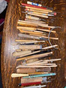Large Lot Kemper Tools Pottery Sculting Ceramics