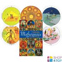 MINI MOTHERPEACE ROUND TAROT DECK & BUCH SET ESOTERIC TELLING US GAMES SYSTEMS