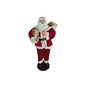 Pupazzo elettronico Babbo Natale cm 150 danzante e con 5 canzoni