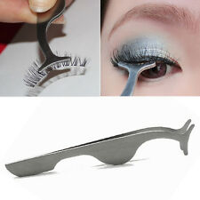 False Eyelash Clip Tweezers Beauty Tool Remover Nipper Extension Applicator Brow