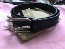 "Burberry Men's Belt-Charcoal/BlackSize: 100cm/40"""