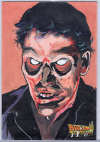 Back To Retro 2 Halloween And Horror Ash EVIL DEAD Phoun Sat Sketch Card