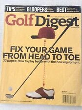 Golf Digest Magazine Fix Your Game Head To Toe December 1998 020617RH