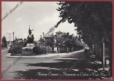 COMO MARIANO COMENSE 13 MONUMENTO ai CADUTI Cartolina viaggiata 1971 REAL PHOTO