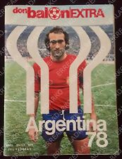 DON BALON EXTRA FUTBOL MUNDIAL ARGENTINA 78  ESPAÑA-BRASIL-HOLANDA ETC