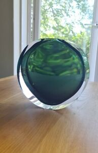 Anna Torfs Born Brussels Czech Glass Artwork