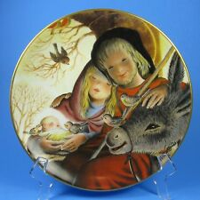 Schmid Holy Family Quiet Reflections of Love Collector Plate Juan Ferrandiz 1980
