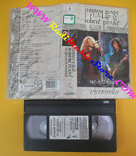 VHS JIMMY PAGE ROBERT PLANT No quarter unledded LED ZEPPELIN no cd lp dvd (VM10)
