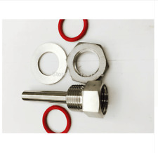 "2.5""L Kettle Thermowell Kit, Stainless Steel 304, 1/2"" BSP"