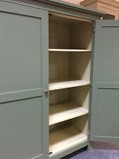 NEW PAINTED HOUSEKEEPERS LINEN CUPBOARD .BESPOKE SO CAN BE ANY SIZE OR COLOUR!