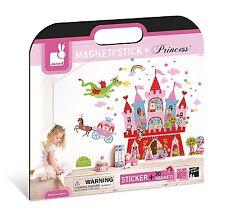 Janod Magneti'Stick Wall Dcor Princess New in Box