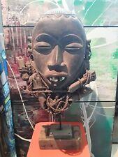 art africain art tribal rare masque du congo