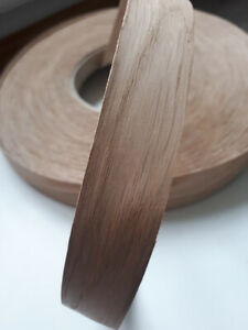 Iron on Edging Pre Glued Real Wood Oak Veneer Edge Banding Tape 22mm 40mm 50mm