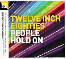 TWELVE INCH EIGHTIES - PEOPLE HOLD ON - VARIOUS ARTISTS (NEW SEALED 3CD Digipak)