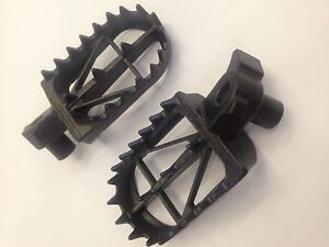 KTM 125 250 300 400 426 450 525 1998-2015 DRC WIDE FOOT PEGS RESTS MID