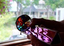 Wonderful John Cooper Two-Wheel Kaleidoscope with Irridescent Glass Body, Signed