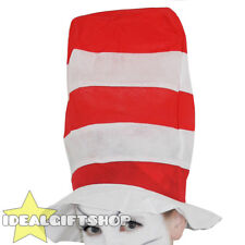 ADULTS CRAZY CAT HAT BOOK FILM CHARACTER COSTUME FANCY DRESS ACCESSORY