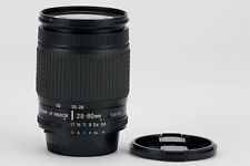 Nikon AF Nikkor 28-80mm 28-80 mm 1:3.5-5.6 3.5-5.6 D