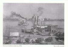 "*Postcard-""Across From Baton Rouge, 1938"" /Port Allen/ (A16-1)"