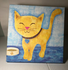 Oopsie Daisey Too Fine Art For Kids Meow Kitty 10x10